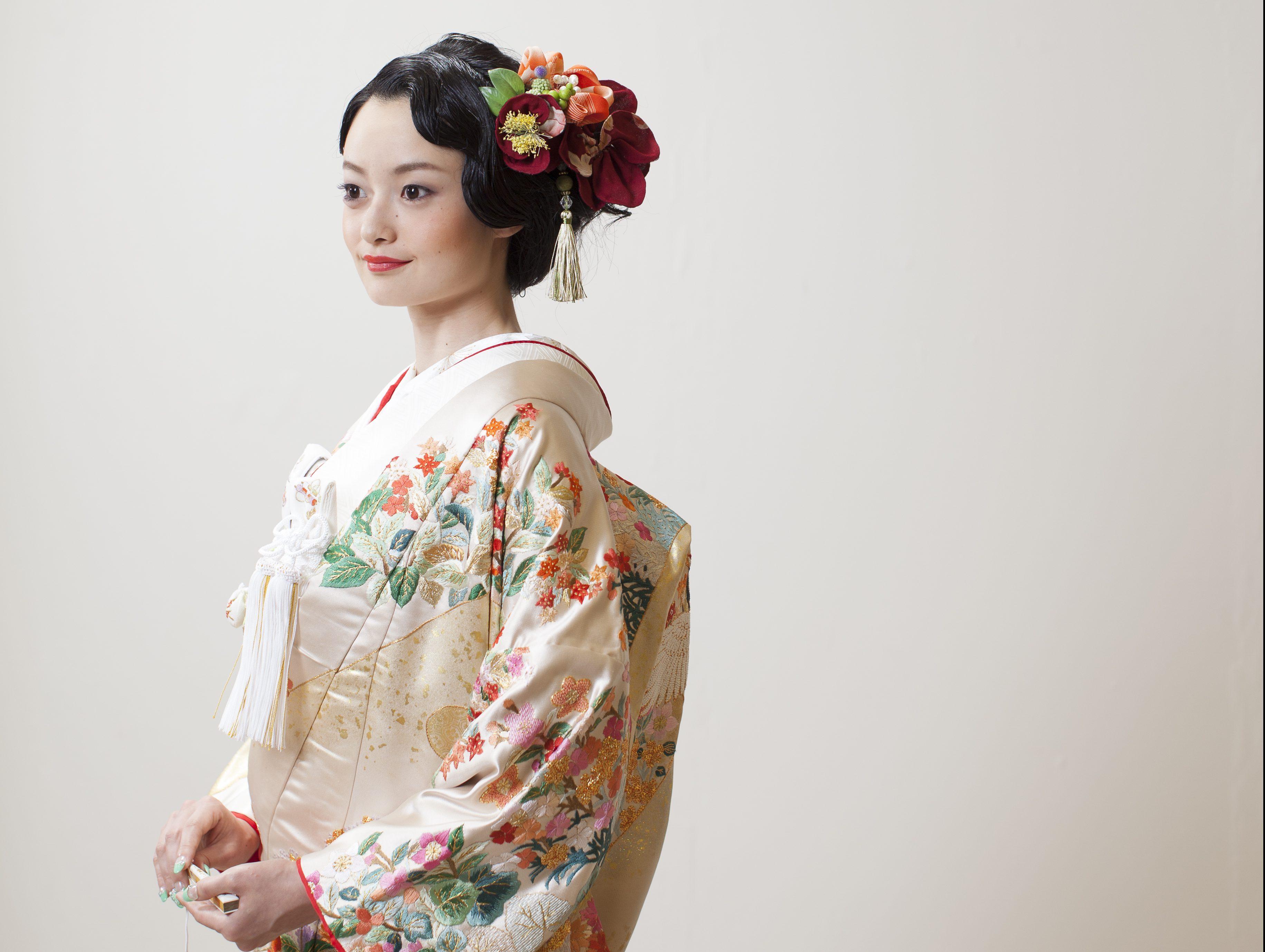 花嫁様の和装スタイル